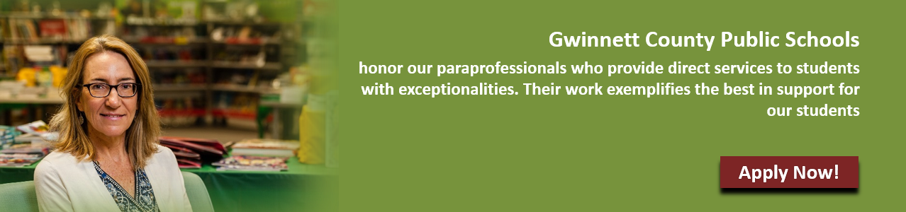 Paraprofessional employee with GCPS commitment statement.